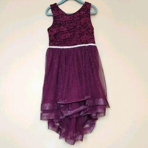 Xtraordinary Girls Size 5 Dress Purple Glitter